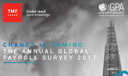 Global payroll survey 2017