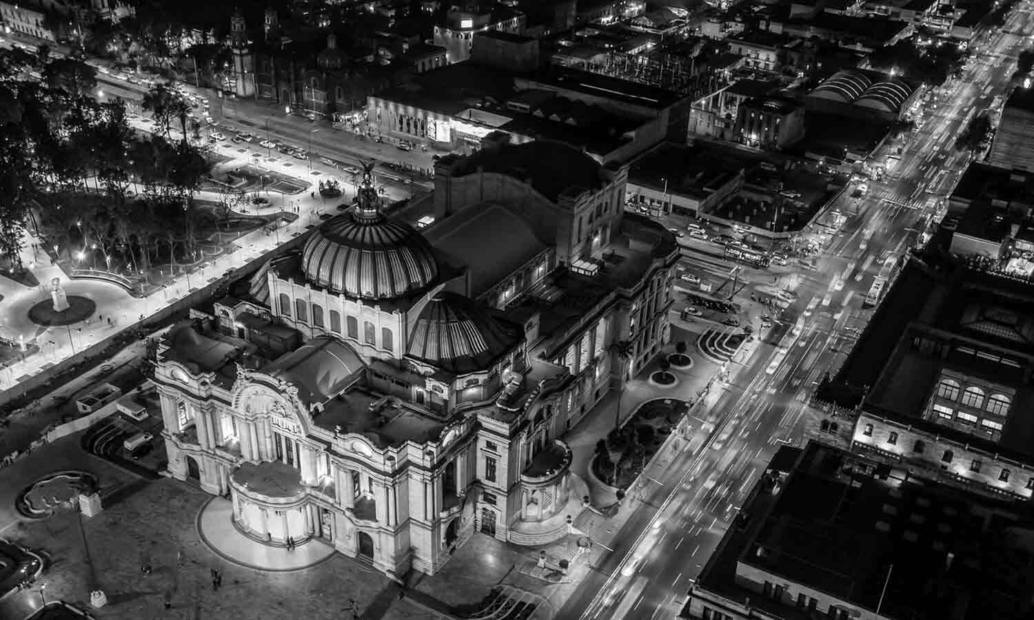 Palacio de Bellas Artes in Mexico