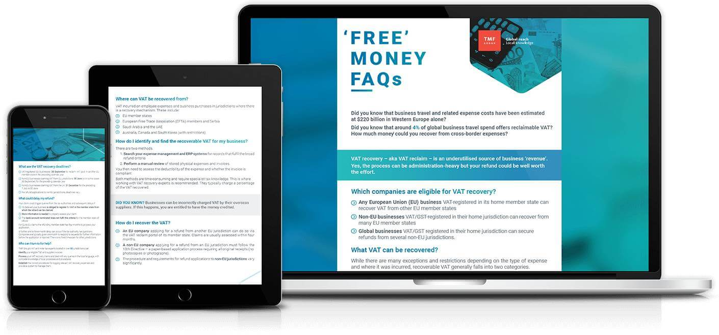 Free money faq sheet promo