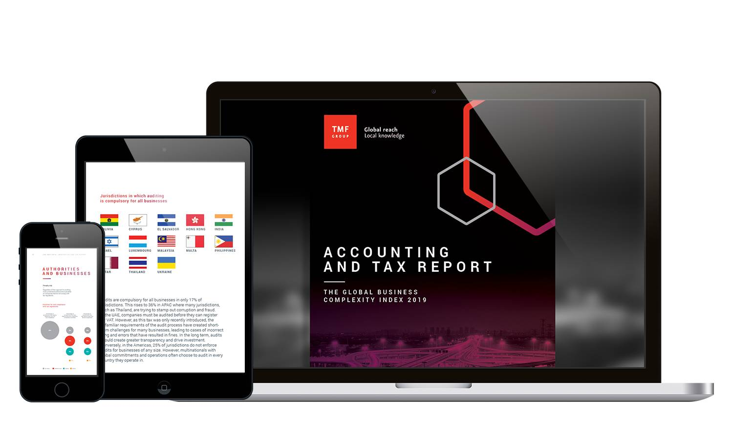 View of the accounting and tax global business complexity index
