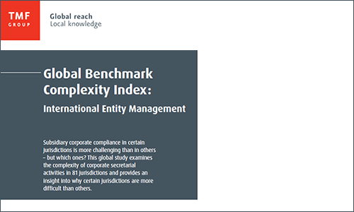 Global benchmark complexity index: 2014