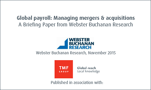 Global Payroll: Managing mergers and acquisitions