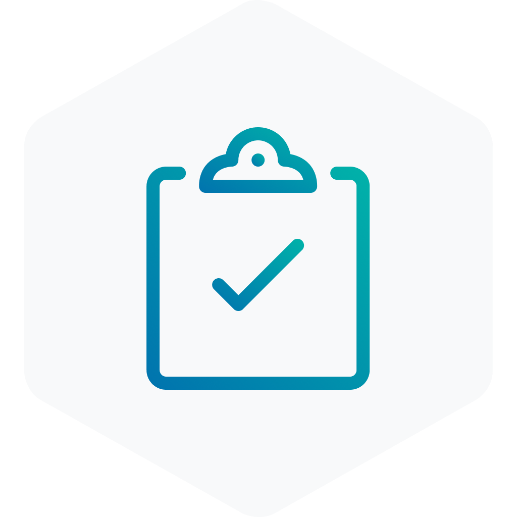 Clipboard check icon