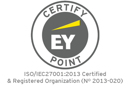 ISO Compliance Logo EY