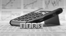 IFRS letters and calculator