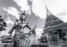 Ki-nara at Grand Palace, Bangkok, Thailand