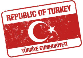 Turkey stamp