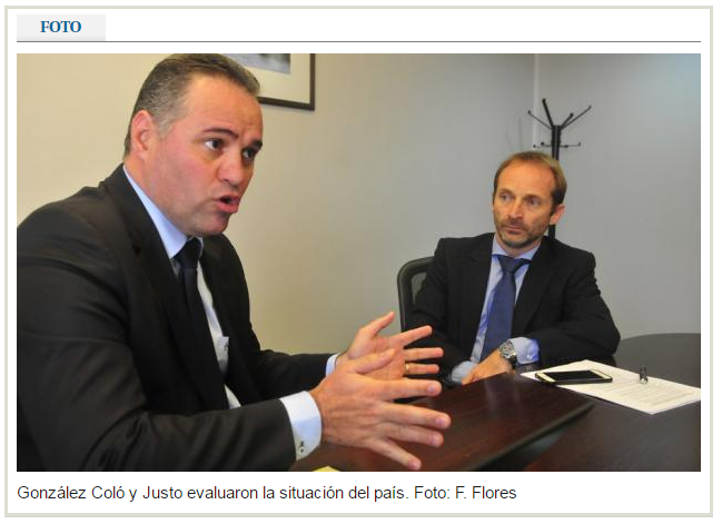 Fredson Justo and Pablo Gonzalez interview with El Pais